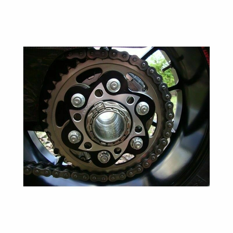 Ducabike for Ducati Sprocket Carrier Silver PC6F03E