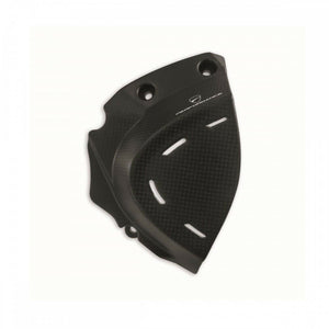 Genuine Ducati Supersport Carbon Sprocket Cover 96980951A