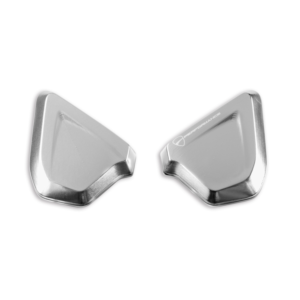 Genuine Ducati Supersport CNC Mirror Hole Covers 97380761A