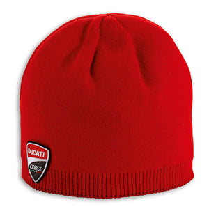 Ducati Performance Corse Beanie - Red, Part # 987680140