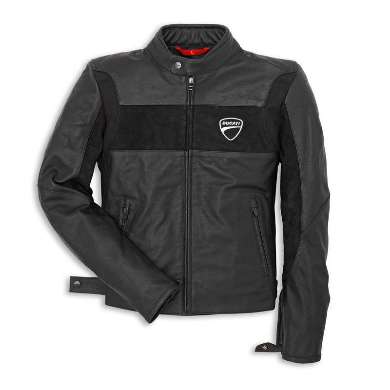 Ducati Performance Company '14 Leather Jacket - Black, Part # 98101900
