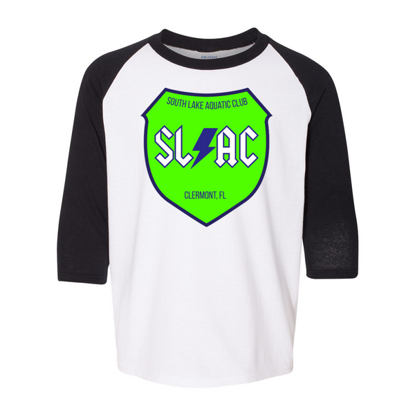 SLAC Heavy Cotton Youth Raglan Tee