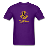 Catchies Globe Tee - purple