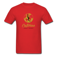 Catchies Globe Tee - red
