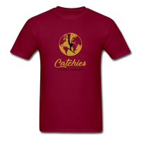 Catchies Globe Tee - burgundy