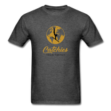 Catchies Globe Tee - heather black