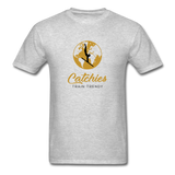 Catchies Globe Tee - heather gray