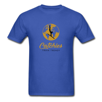 Catchies Globe Tee - royal blue
