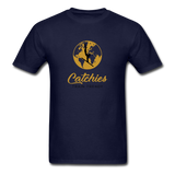 Catchies Globe Tee - navy