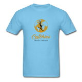 Catchies Globe Tee - aquatic blue