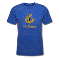 Catchies Globe Tee - mineral royal