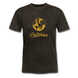 Catchies Globe Tee - mineral black