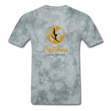 Catchies Globe Tee - grey tie dye