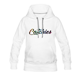 Adult Alley Oop Flip side Hoodie - white