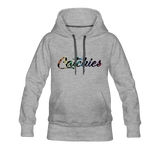Adult Alley Oop Flip side Hoodie - heather gray
