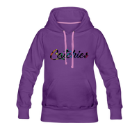 Adult Alley Oop Flip side Hoodie - purple
