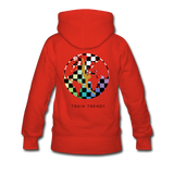 Adult Alley Oop Flip side Hoodie - red