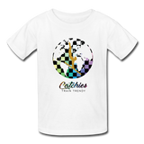 Catchies Alley Oop Globe Tee - white
