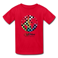 Catchies Alley Oop Globe Tee - red