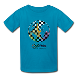Catchies Alley Oop Globe Tee - turquoise