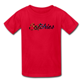 Kids Alley Oop Flip side tee - red