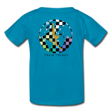 Kids Alley Oop Flip side tee - turquoise