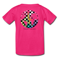 Kids Alley Oop Flip side tee - fuchsia