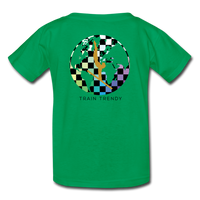 Kids Alley Oop Flip side tee - kelly green