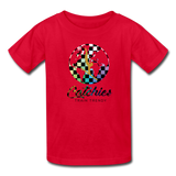 Kids' Alley Oop Globe Tee - red