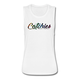 Catchies Flowy Muscle Tank by Bella - white