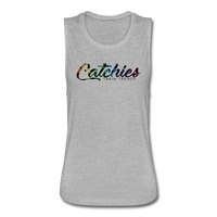 Catchies Flowy Muscle Tank by Bella - heather gray