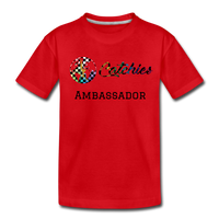 Exclusive customized ambassador tee - red