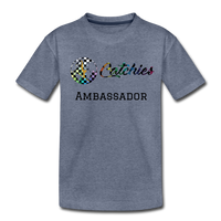 Exclusive customized ambassador tee - heather blue