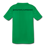 Exclusive customized ambassador tee - kelly green