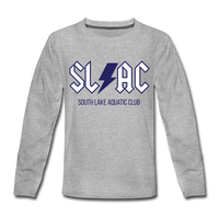 SLAC Eat. Sleep. Swim Long sleeve - heather gray