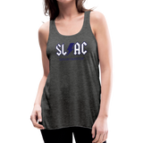 Women's flowy SLAC tank - deep heather