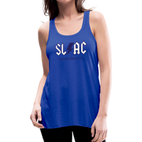 Women's flowy SLAC tank - royal blue