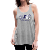 Women's flowy SLAC tank - heather gray
