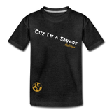 Savage tee - charcoal gray