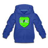 SLAC sheild youth Hoody - royal blue