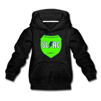 SLAC sheild youth Hoody - charcoal gray