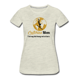 Catchies Mom Golden Globe Tee - heather oatmeal