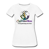 Catchies Mom Alley Globe Tee - white