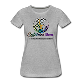 Catchies Mom Alley Globe Tee - heather gray