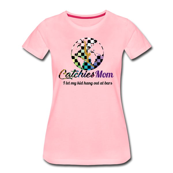 Catchies Mom Alley Globe Tee - pink