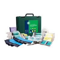 HSA 11-25 Person Workplace Kit in Green Saver Box