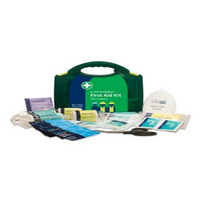 HSA 1-10 Person Workplace Kit in Green Integral Aura Box