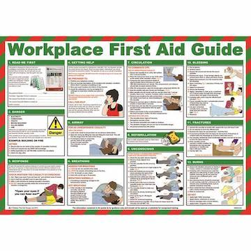First Aid Wall Charts