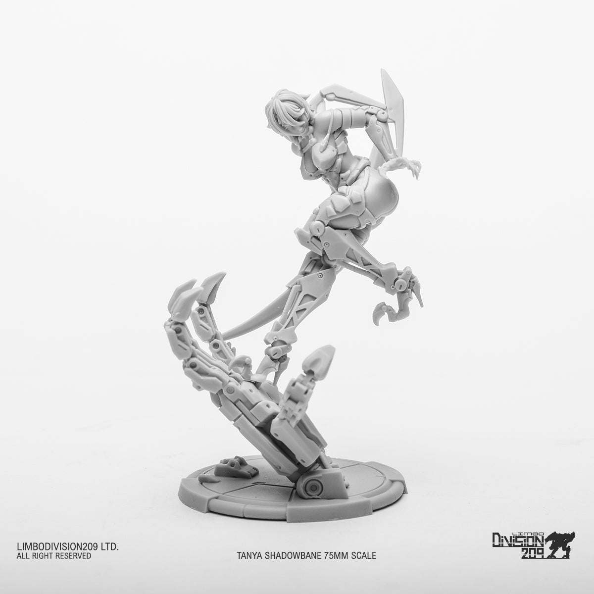 Tanya Shadowbane 75mm