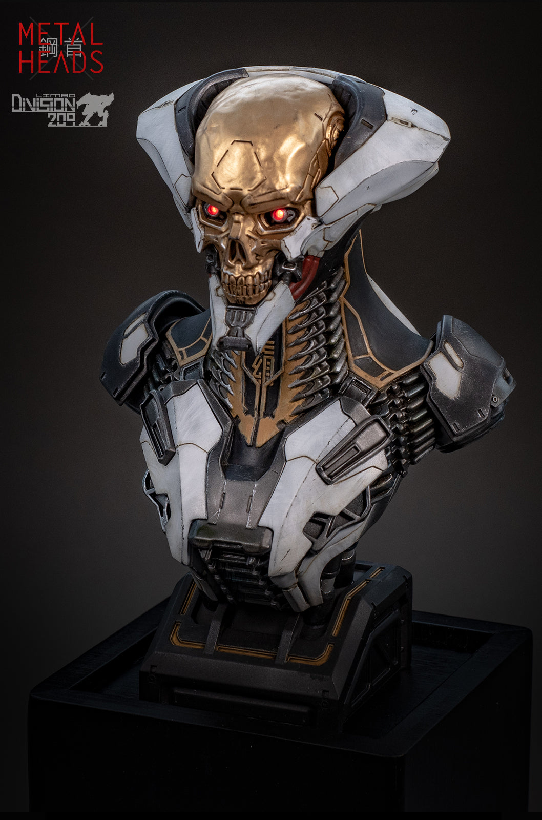 Metal Head 03 Painted Bust